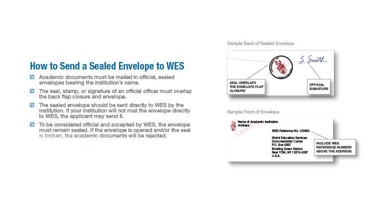 Equivalência de diploma pelo WES para Imigração (ECA